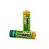AA2500mAh充电电池(每卡2粒)